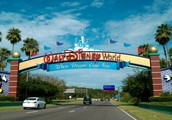 Situation and Site of Walt Disney World in Florida