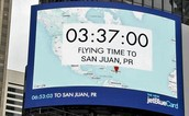 Jetblue Billboard Gives Real-Time Travel Duration (US)