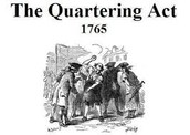 The quartering act,of 1765