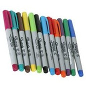 Colorful Sharpies