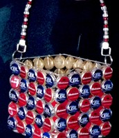 Bottle Cap Purse