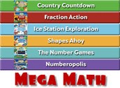 Mega Math Games-Fun games that reinforce concepts taught within the chapter.