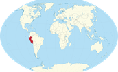 Relative size of Peru and capital