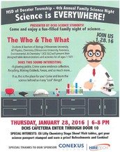 4th Annual Family Science Night