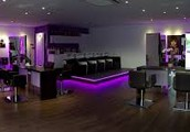 Purple LED Hair Stations