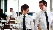 Waiters and Waitresses in France