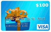WIN $100 VISA GIFT card in MAY! EXTENDED through June 10th!