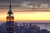 6. On May 1, 1931, the Empire State Building was officially opened.