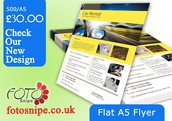 Flyer Printing Services Online UK