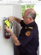 About Fire safety inspectors