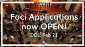 Final sprint for LLDS Faci Applications!