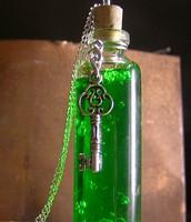 Green Vial