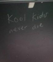 graffiti del bano en la esucela