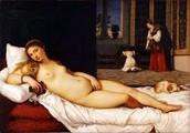 """""""Venus de Urbino"""" de Tiziano ."""