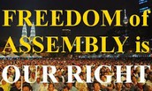 The Freedom of Assembly