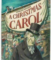 The book of the Christmas Carol: by- Charles Dickens