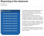Learning Wales - Reasoning in The Classroom