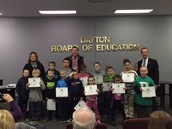 LES Stars/Students of the Month