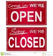 Abre a las 9:00 am y cierra a las 9:00 pm