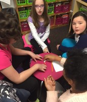 Math practice using games