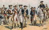 Common soldiers during Revolution-ary War
