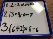 our example for Order Of Operations