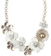SOLD!!!!   Dot Bloom Necklace