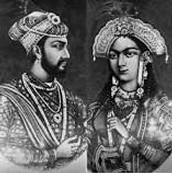 Mumtaz mahal and her huband Shah jahan