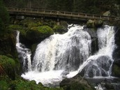 Beside a German Waterfall