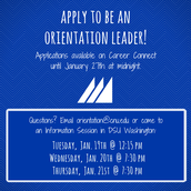 Campus Involvement - Call for Applications!