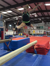 CHHS gymnastics meet