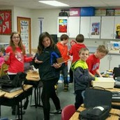5th grade Engineering Olympics collaboration