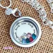 BIRTH CHARM NECKLACE