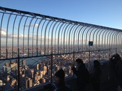 This is what it looks like from the top of the Empire State Building.