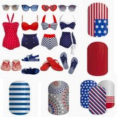 4th of July wraps!!