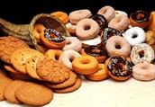 Our shop sells the best donuts and cookies in town!