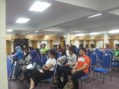 Crowd gathering in KKM for YOLO