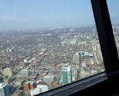First Time in the CN Tower