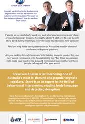 Conference Speakers Australia