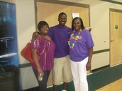 Deona, Jahrel, and Mildred