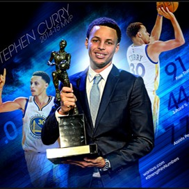 Stephen Curry  For MVP profile pic