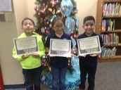 Top Readers in 1st Grade