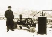 The first geothermal machine