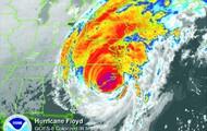 Floyd's Satellite image
