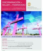 Discriminación+mujer=feminicidio