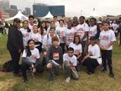 TJ Feeder Students Run Dallas Mayor's Race 5K