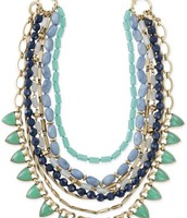 Green Stone Sutton Necklace - $89