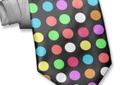 Multi-colored polka dots