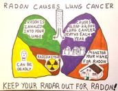 High counts of Radon are found in 1 out of every 5 homes