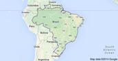 A map of Brazil